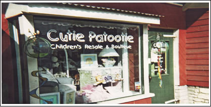 Cutie Patootie Children's Resale and Boutique in Boerne Texas - Photo of Storefront